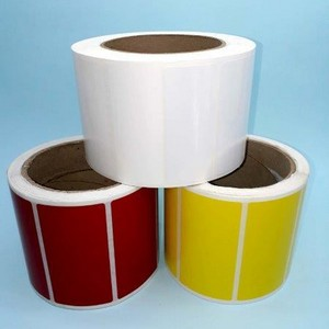 Etiquetas adesivas para caixas de papelão