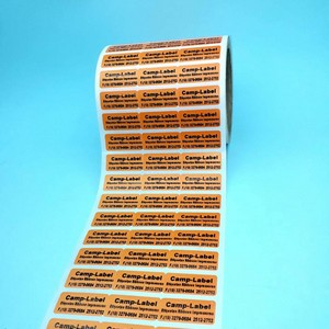 Etiquetas para identificação de lote