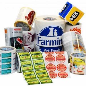 Etiquetas para frascos plásticos