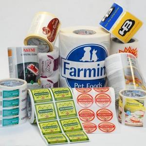 Etiquetas térmicas adesivas