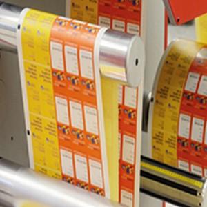 Etiquetas para produtos alimentícios